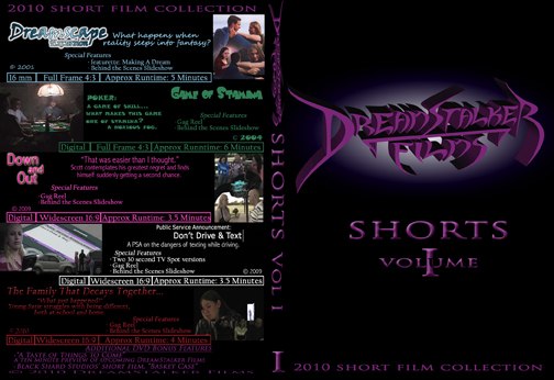 DSF Shorts V1 DVD Cover